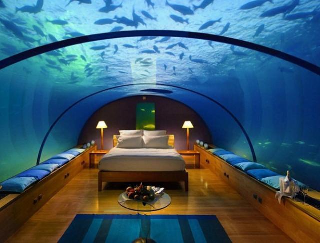 undervattenshotell